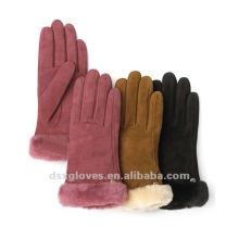 Зимние перчатки из манжеты