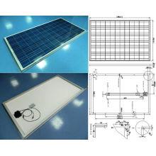 Sonnenlicht-polykristallines Sonnenkollektor-PV-Modul 18V 36V 195W 200W 205W 210W mit TÜV genehmigte