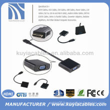HDMI to VGA Female Cable Cord Converter Adapter 1080P for PC Laptop