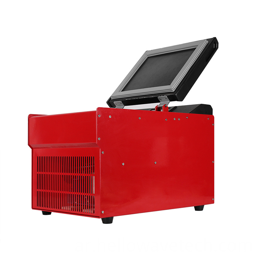 hellowave LCD/OLED screen freezer separator machine
