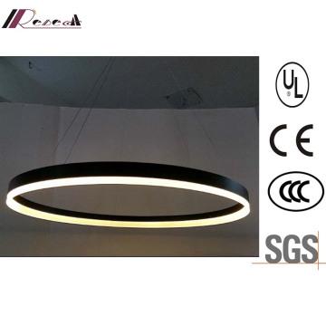 Guzhen LED-Beleuchtung Acryl Metall LED Runde Pendelleuchte