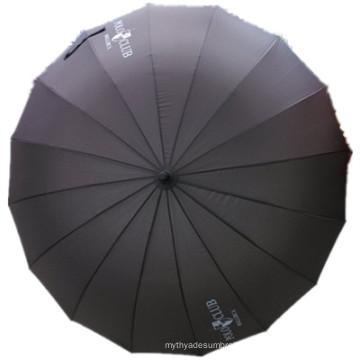 Auto Open Pongee 16k Straight Umbrella (JYSU-11)