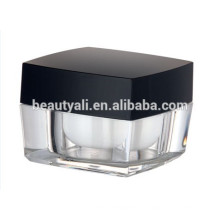 15ml 30ml50ml 100ml Косметическая упаковка Square Acrylic Jar