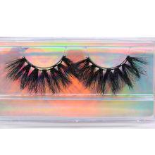 F178H Hitomi Wholesale Private Label Mink Eyel Long Eyelash soft natural mink eyelashes Fluffy 25mm Magnetic Mink Eyelashes