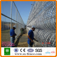 high quality razor barbed wire in China manufacturer