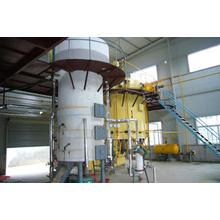 80TPD Continuous and automatic crude sunflower cooking oil making machine
