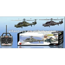FX060 Mais novo RC 2.4G helicóptero médio 4Ch com giroscópio