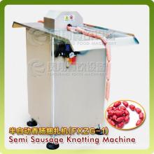 Pneumatic Semi-Automatic Sausage Knotter Knotting Bunding Processing Machine