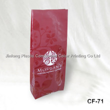 Spot Matte Finishing Coffee Packaging Bag with Side Gussect