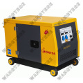 Diesel Generator with Recoil or Electric Starting System, 10.0kW Rated and 14.0kW Maximum Output