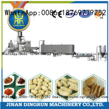 hot selling soya bean processing extruder machine