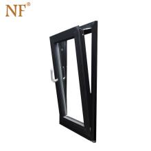 top quality germany hardware aluminium inward tilt turn window