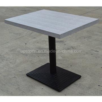 Сделайте прямоугольник из ресторана деревянный стол для столовой (СП-RT395)