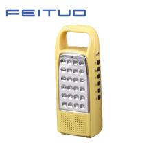 Портативный светодиодный лампа, перезаряжаемый фонарь, рука свет, Радио FM 620-Y