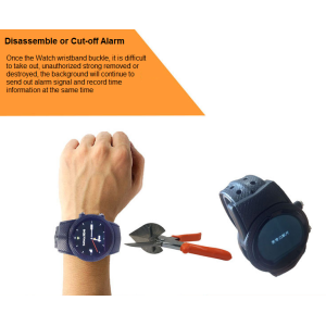 GPS Watch for Dementia y Alzheimer Pacientes Ancianos