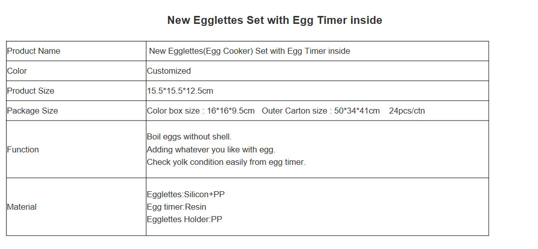 Egglettes Egg Cooker Eggies Kitchen