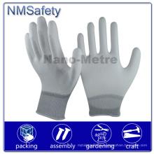 NMSafety Palm Fit PPE Белый PU Защитная перчатка безопасности