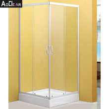 Aokeliya bathroom cheap shower doors compact fold glass shower enclosure