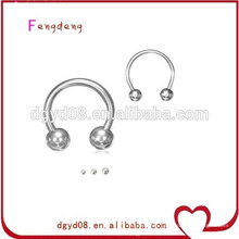 Stainless steel body piercing nose rings manufacturer
