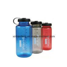 Botella de agua de la bicicleta del PE (HBT-025)