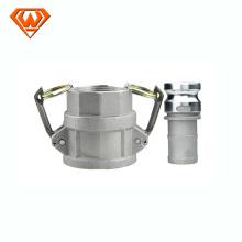 acoplamiento rápido hidráulico del tornillo de acero inoxidable