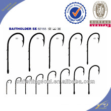 FSH030 82155 Crochet de pêche en acier au carbone à haute teneur en hameçons