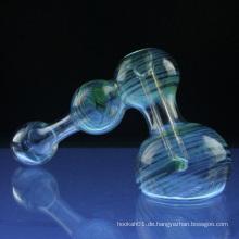 Glas Großer Hammer Bubbler zum Rauchen mit 3 Farben (ES-HP-067)