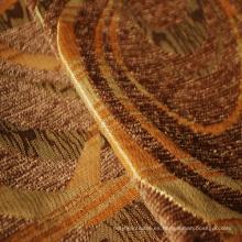 Tela de diseño geométrico Chenille para sofá
