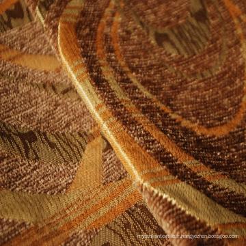 Tissu Chenille Design Géométrique pour Canapé