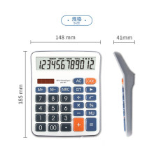 Calculatrice scientifique électronique Instructions à 12 chiffres
