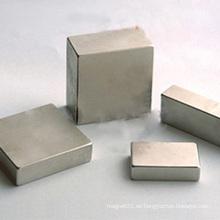 Industrieller AlNiCo Block Quadratischer kundengebundener Magnet