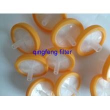 Filtre de seringue de laboratoire en PVDF pour solvant chimique