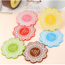Cheap Colorful Durable Silicone Cup Mats