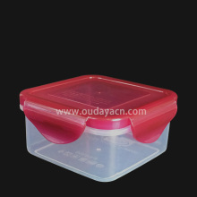 Recipiente plástico para alimentos, caixa de armazenamento de 11 onças