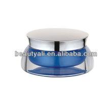 Frasco de crema cosmética acrílica