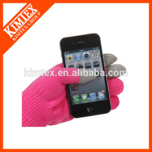 Fashionable iphone texting gloves