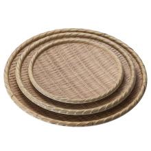 Меламин деревянные как плиты/Бамбук тарелка/тарелка (NK13811-14)