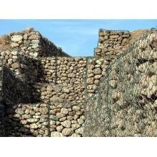 Galvanizado Soldado Gabion Caja / Jaulas De Piedra / Gabion Muro De Retención