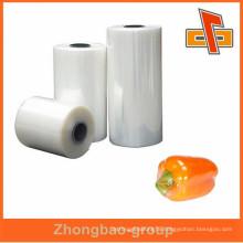 High Quality Clear Transparent PE food wrap stretch film rolls china maker