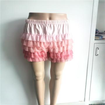 Chiffon 100% Polyester Sweet Girls Dress Pants