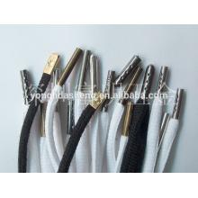 Messing-Schnürsenkel Metall-Spitzen. Shoelace accessories.custom shoelace Spitzen für Verkauf