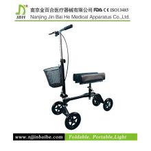Neue Version Knee Scooter mit abnehmbarem Korb