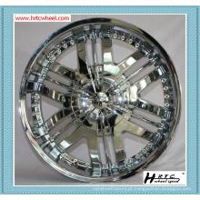 Preço de qualidade superior competitivo cor de cromo SHINY 22 polegadas carro jantes 24 polegadas carro jantes