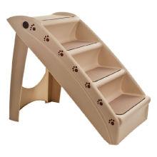 Escaleras plegables de plástico para mascotas de 4 pasos