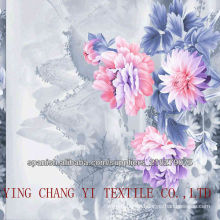 100% polyester printed fabric with high quality