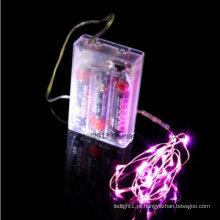 Luz de fio LED de cobre para decoração de mesa para casamento e artesanato