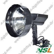 35W/55W 240mm Lens Diameter HID Outdoor Spotlight, Rechargeable Hunting Search Light