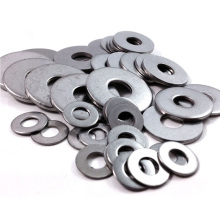 Arandela plana de silicona fina de cobre metálico de acero inoxidable
