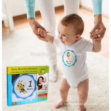 custom Eco-friendly baby milestone sticker