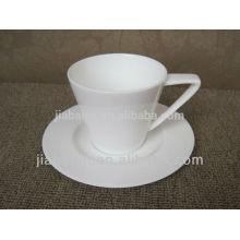 Кофейная чашка и блюдце высшего качества с эспрессо высшего сорта